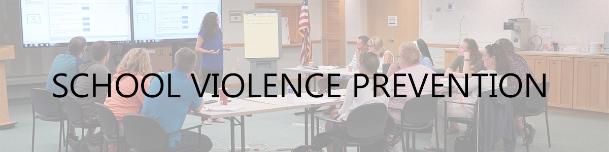 school violence prevention and internvention workshops