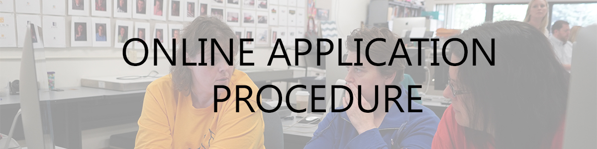 Online Application Procedure