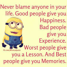 Words of Advice from a Minion