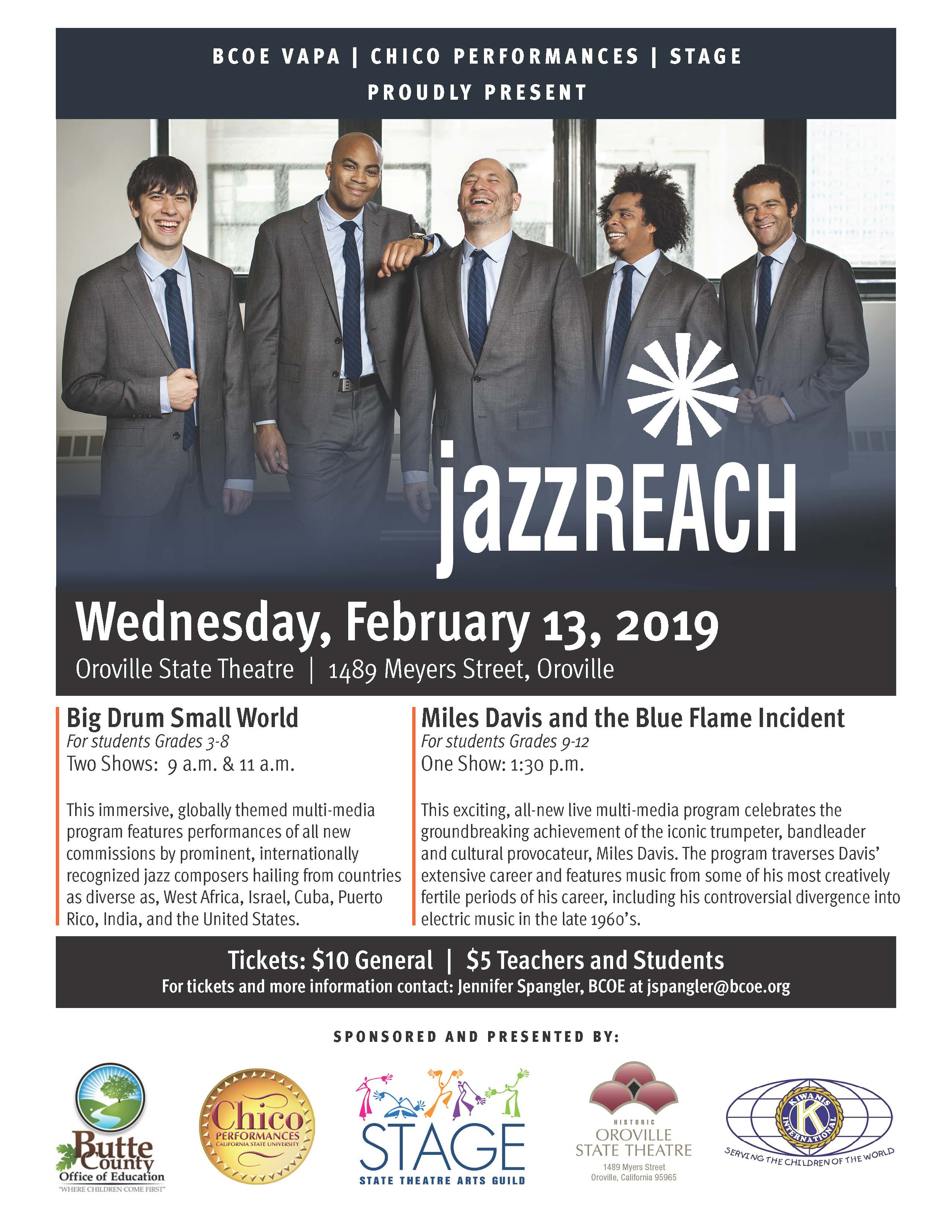 Jazz Reach flier