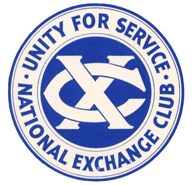 Unity for service national exchange club Logo